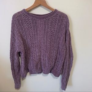 Charlotte Russe Soft Chunky Knit Sweater
